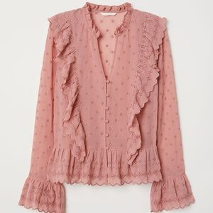 H&M V Neck Blouse